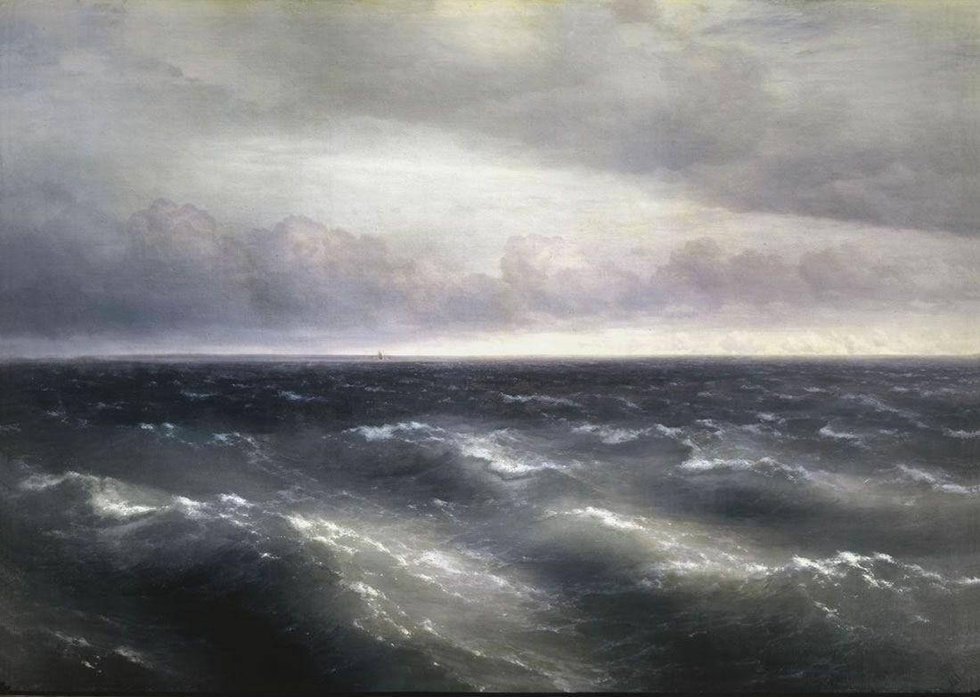 Описание картины Айвазовского «Черное море»
