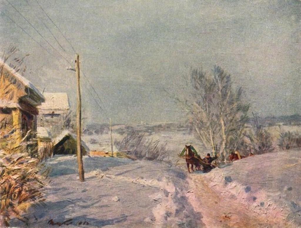 Описание картины «Мороз и солнце»Виктора Цыплакова