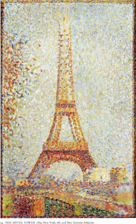 Описание картины «Эйфелева башня. Париж» Жоржа Сёра