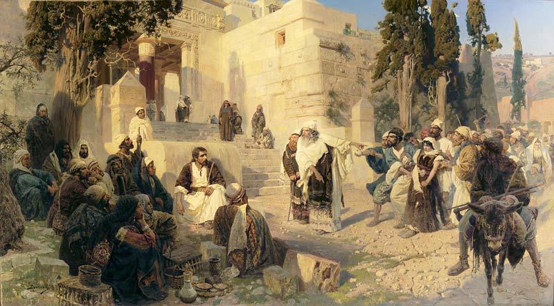 Описание картины «Христос и грешница» Василия Поленова