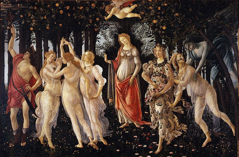 Описание картины Сандро Боттичелли «Весна»
