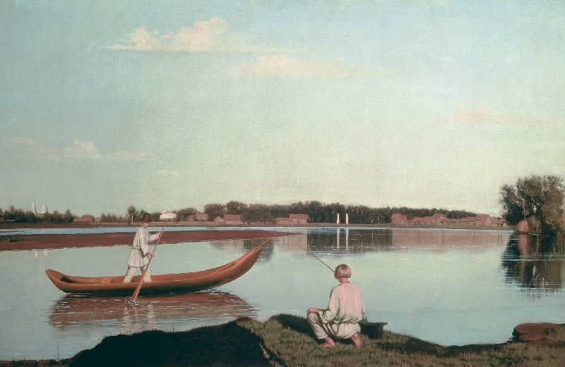 Описание картины Григория Сороки «Рыбаки»