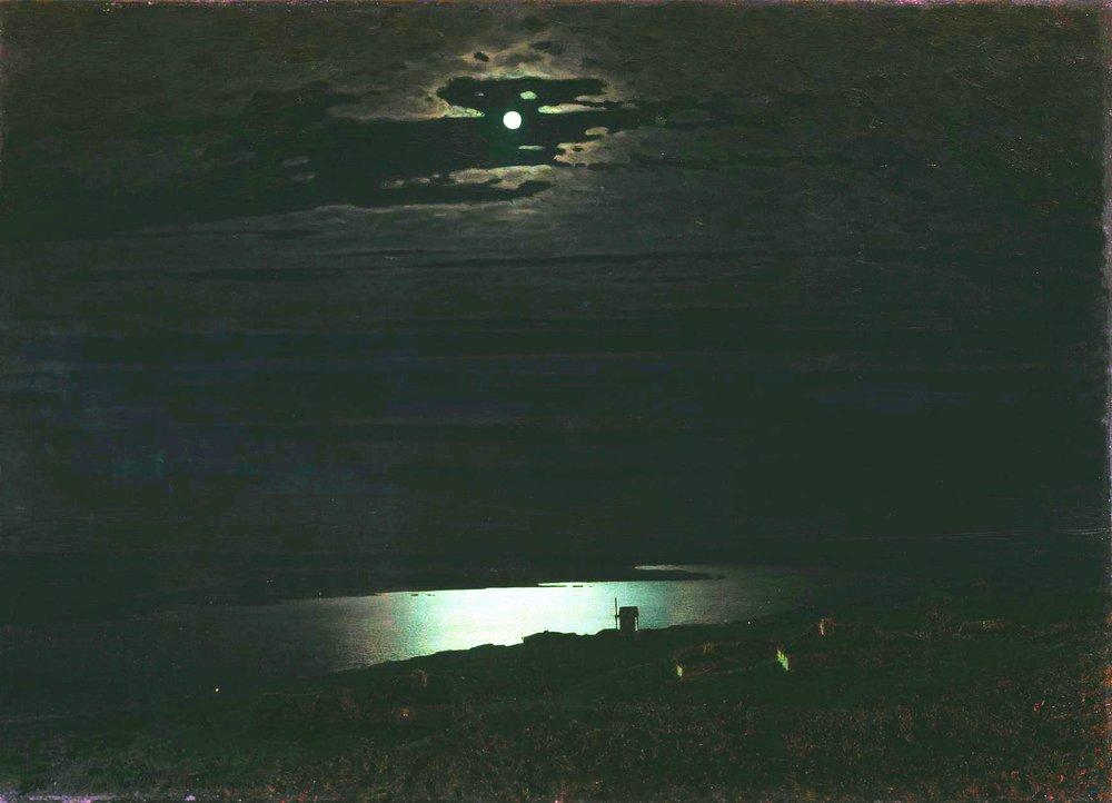 Описание картины «Лунная ночь на Днепре» Архипа Куинджи