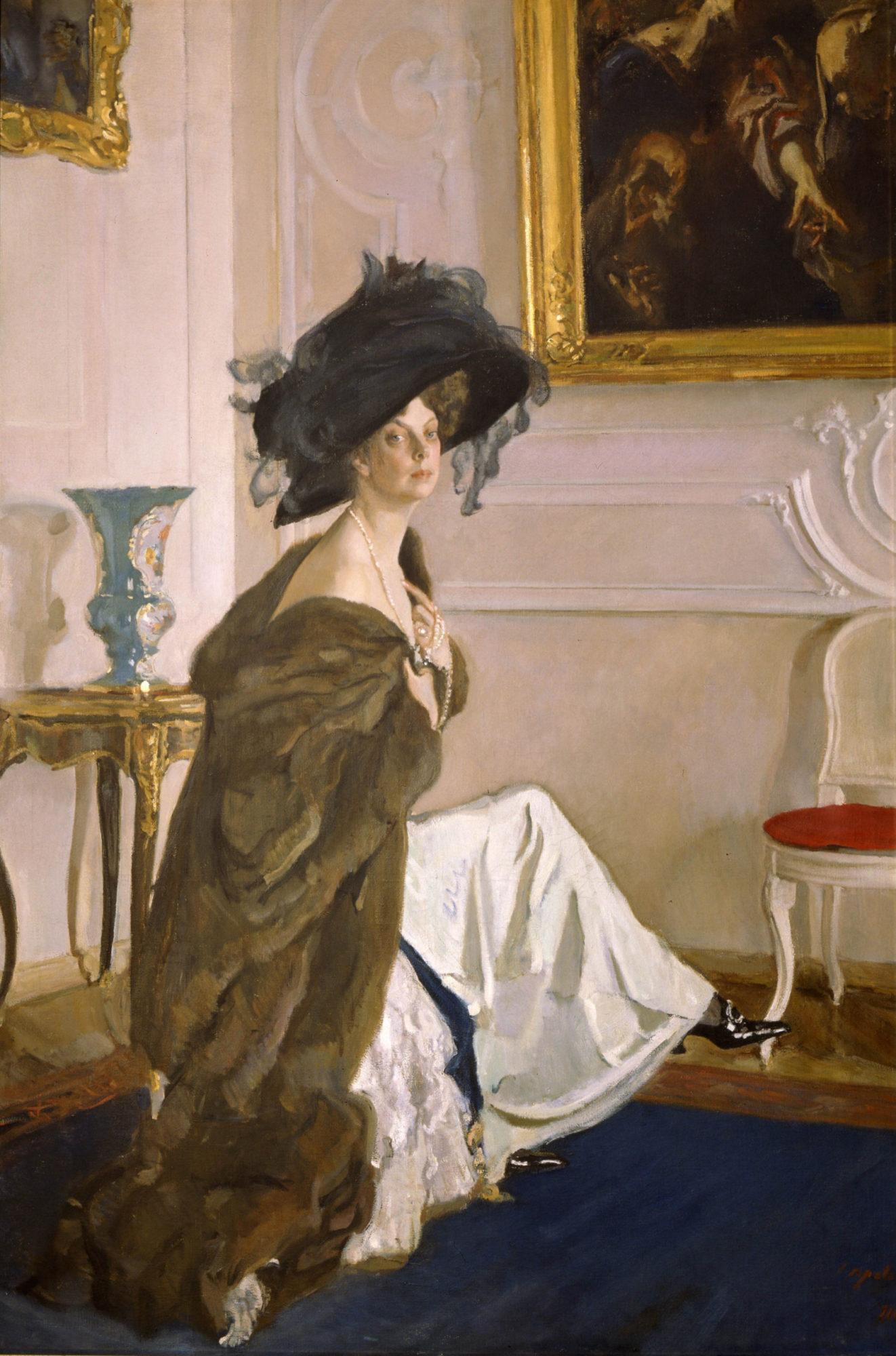 Валентин Серов, 1911 год, картина «Портрет княгини Ольги Орловой».