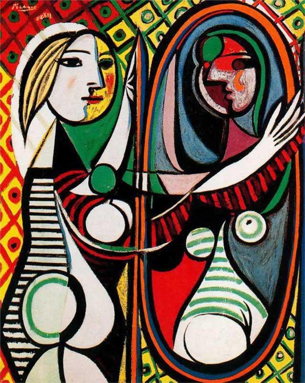 """Описание картины Пабло Пикассо """"Девушка перед зеркалом"""""""