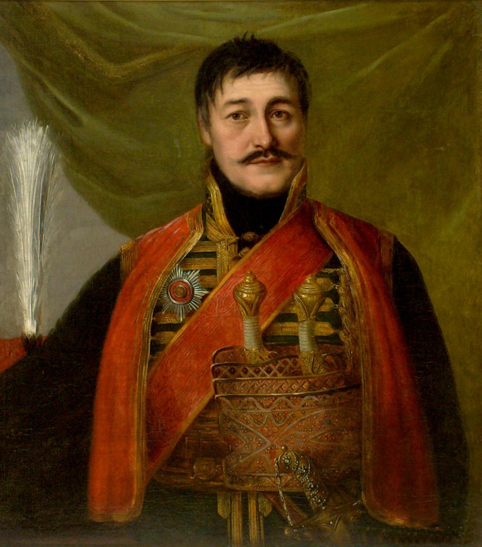 Владимир Боровиковский, 1816 год, картина «Портрет Карагеоргия».