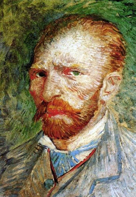 Автопортрет. Винсент Ван Гог. 1889 год. Музей Орсэ, Париж.
