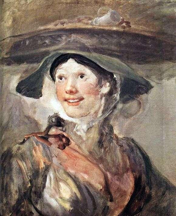 """Описание картины """"Девушка с креветками"""" Уильяма Хогарта"""