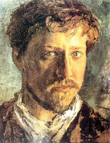 Автопортрет, Валентин Серов, 1880-е, частная колекция.