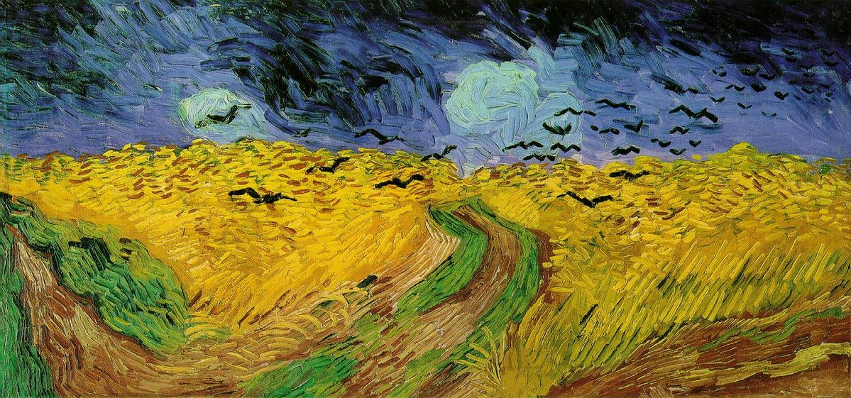 """Описание картины """"Пшеничное поле с воронами"""" Винсента Ван Гога"""