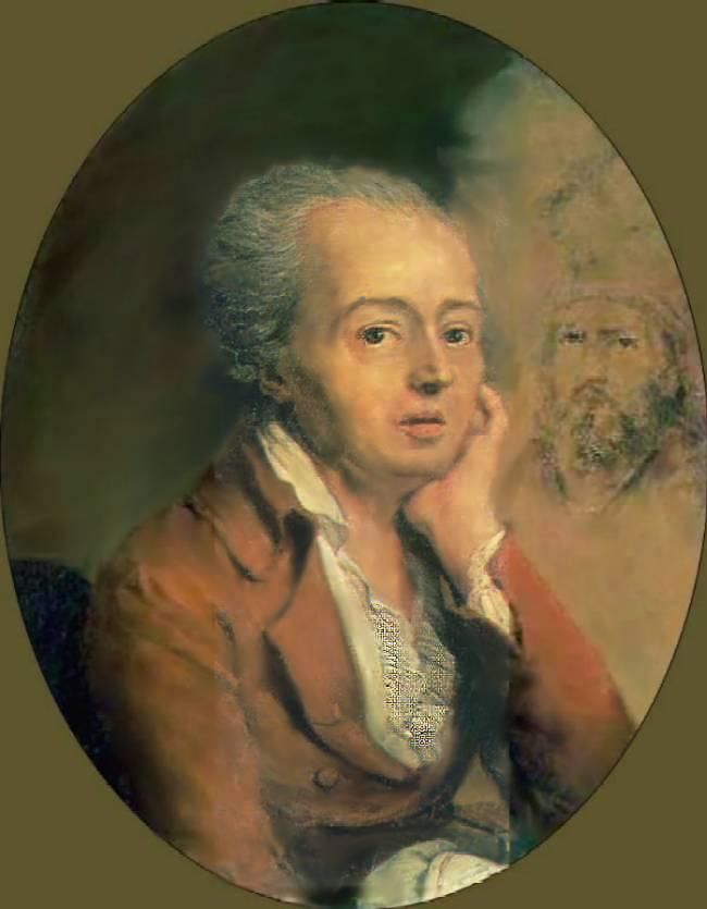 Портрет Дмитрия Левицкого. Владимир Боровицкий. 1796 год. Русский музей.