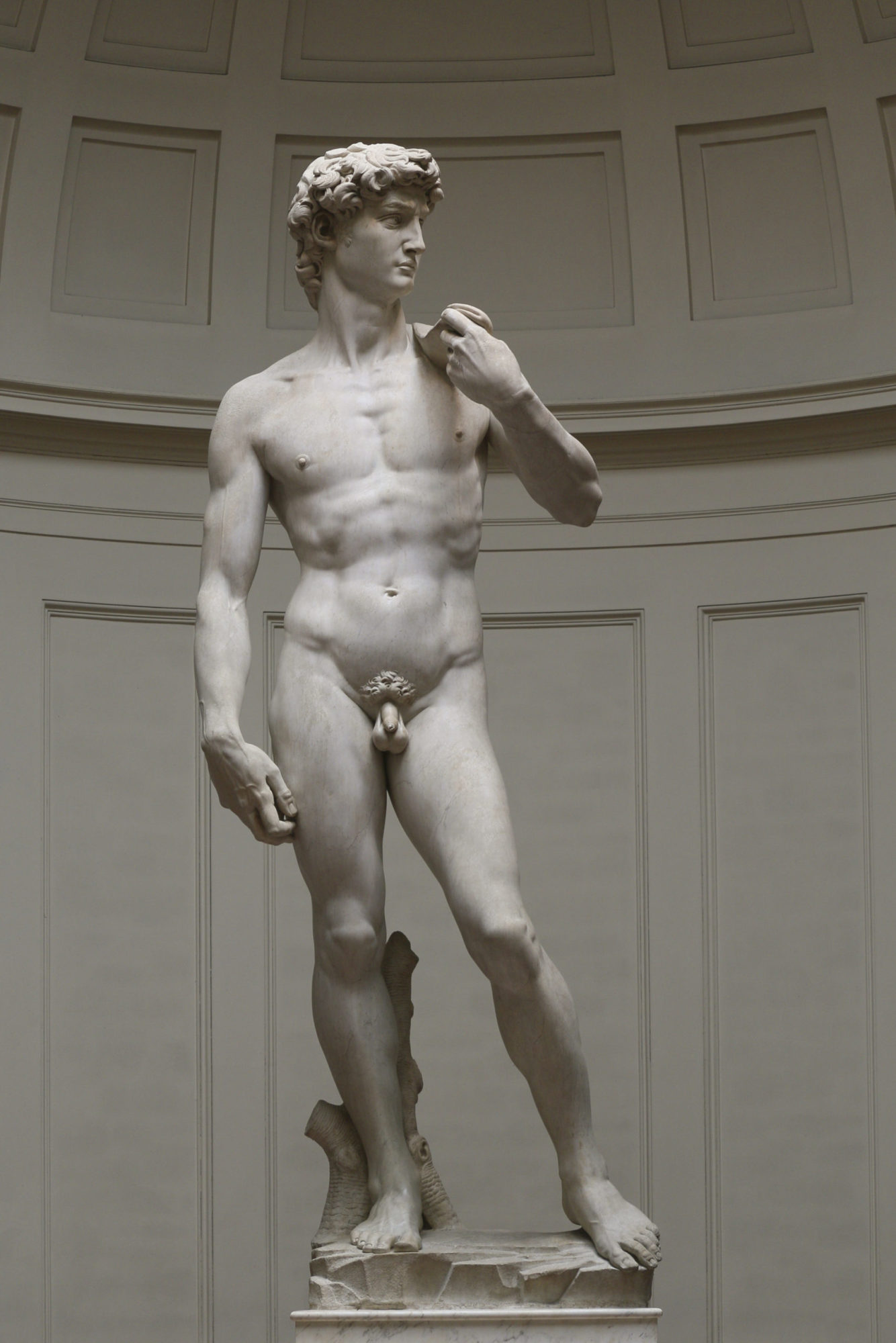 Давид. Микеланджело. 1504 год. Академия, Флоренция.