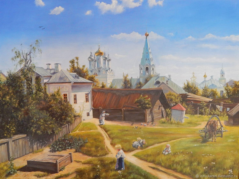 Василий Поленов, 1878 год, картина «Московский дворик»