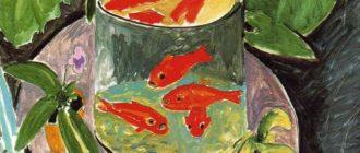 """Описание картины Анри Матиса """"Красные рыбки"""""""