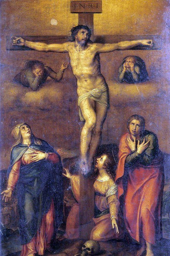 "Описание картины Микеланджело Буанарроти ""Оплакивание Христа"""